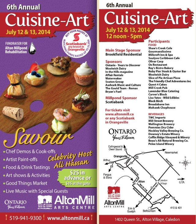 Cuisine-Art at the Alton Mill