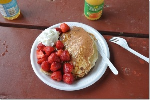 Pancakes! Strawberry Festival